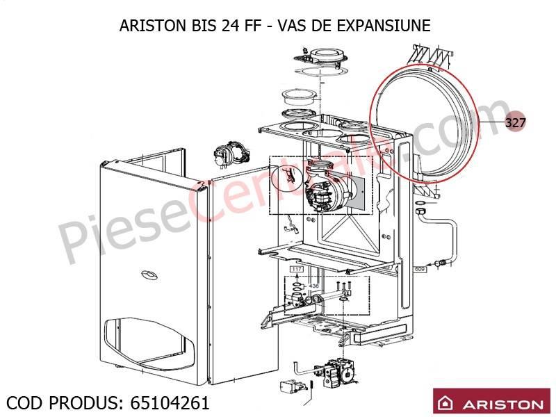 Poza Vas expansiune centrale termice Ariston BIS 24 FF, EGIS si AS, Genus, Clas, Genus Premium, Clas Premium