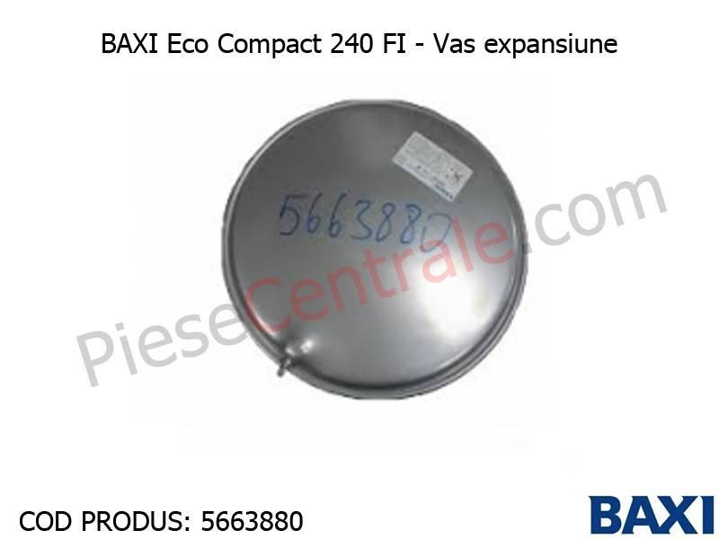 Poza Vas expansiune Baxi Eco3 Compact 240 FI