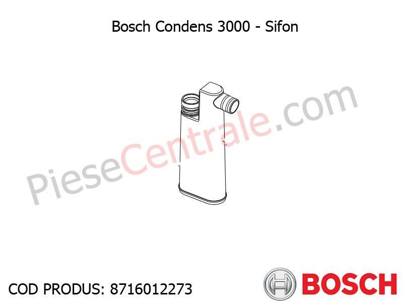 Poza Sifon centrala termica Bosch Condens 3000, Bosch Condens 2500W