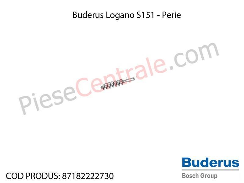 Poza Perie de curatat centrala termica Buderus Logano S 151