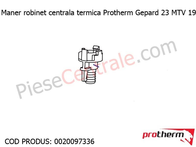 Poza Maner robinet centrala termica Protherm Gepard 23 MTV 19