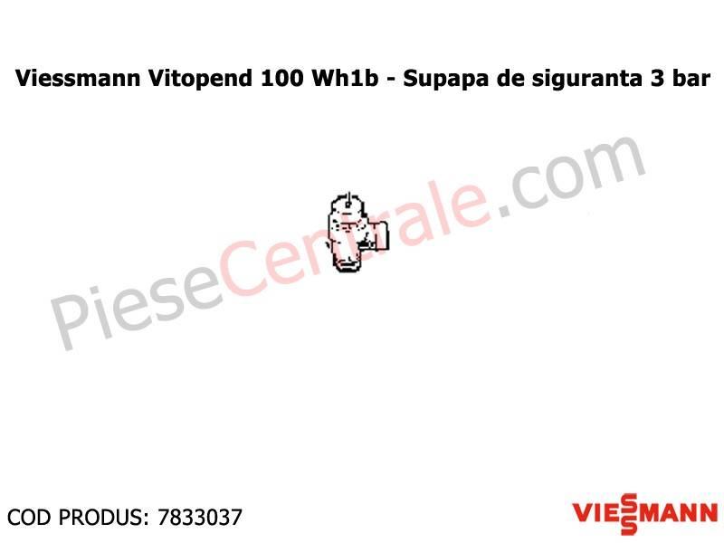 Poza Supapa de siguranta 3 bari centrale termice Viessmann Vitopend 100 WH1B