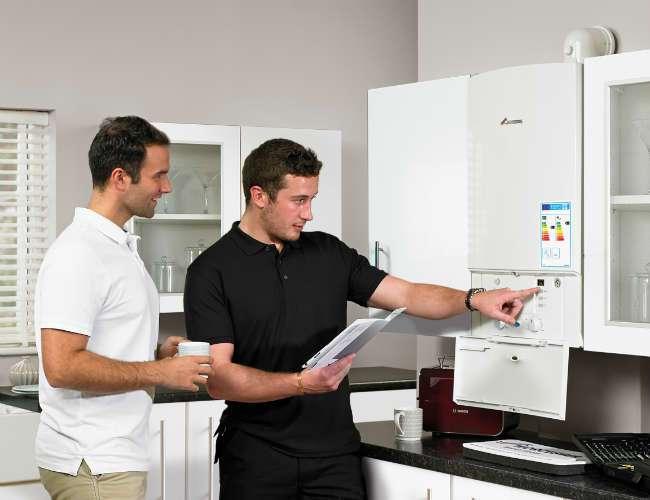 Poza Montajul, punerea in functiune si autorizarea de functionare a unei centrale termice de apartament. Poza 78