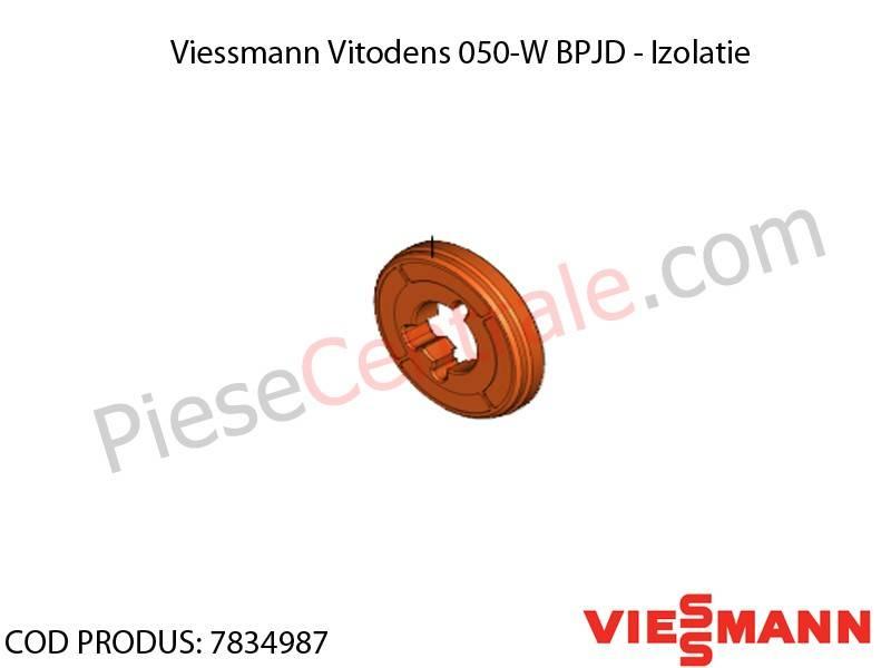 Poza  Izolatie centrala termica Viessmann Vitodens 050-W BPJD