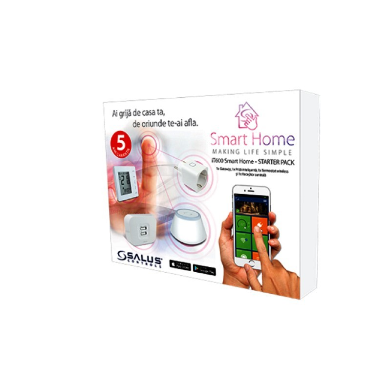 Pachet de baza Salus iT600 Smart Home