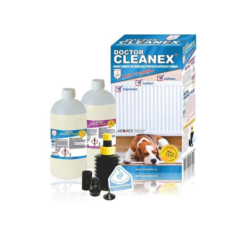 Poza Pachet complet pentru curatare si protectie pentru instalatiile termice Doctor Cleanex. Poza 9369
