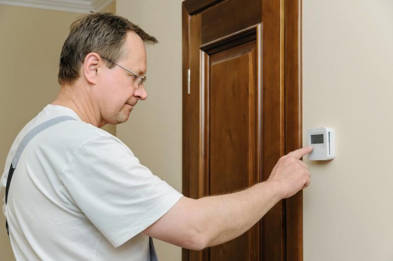 setarea termostatului de ambient. Poza 98