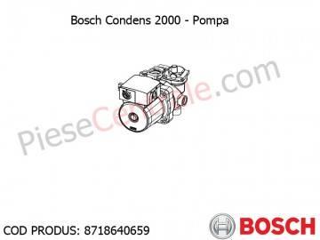 Poza Pompa centrala termica Bosch Condens 2000, Buderus Logamax Plus
