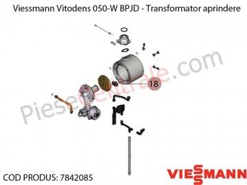 Poza Transformator aprindere centrala termica Viessmann Vitodens 050-W BPJD