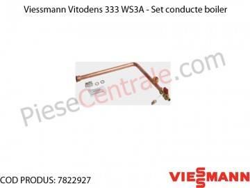 Poza Set conducte boiler centrala termica Viessmann Vitodens 333 WS3A